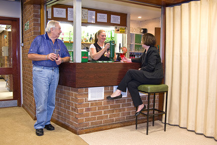 Cox Green Community Centre Bar And Lounge Area